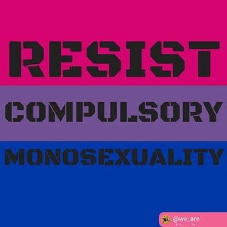 Image result for Resist Compulsory Monosexuality